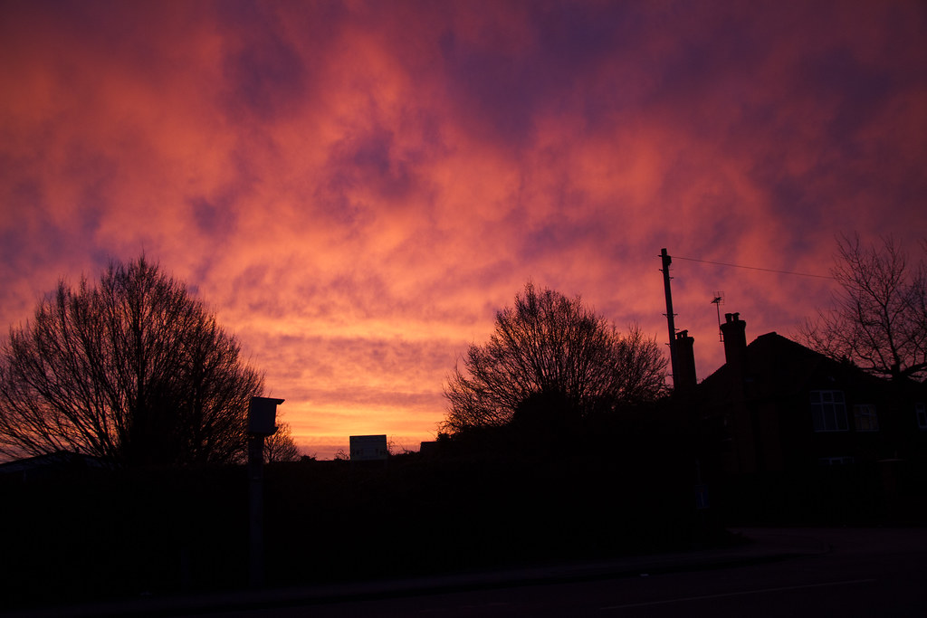 Sunrise on Maidenhead Moor