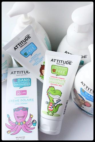 ATTITUDE tout-petits nouveaux produits 2015