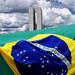 Bandeira Brasileira, Brasilia, Brazil by Fandrade