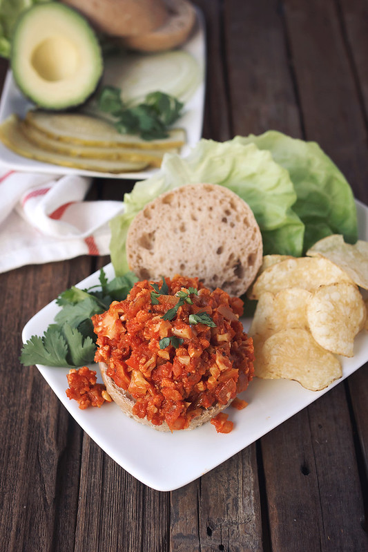 Cauliflower Sloppy Joes