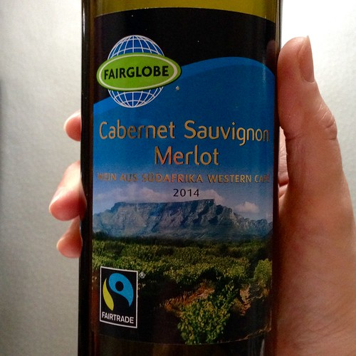 Lidl - Fairglobe Cabernet Sauvignon Merlot 2014.  South African wine