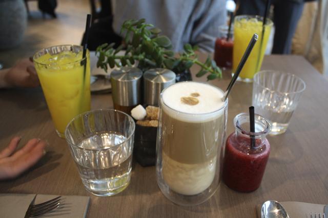 Breakfast at Darwin Brasserie, London