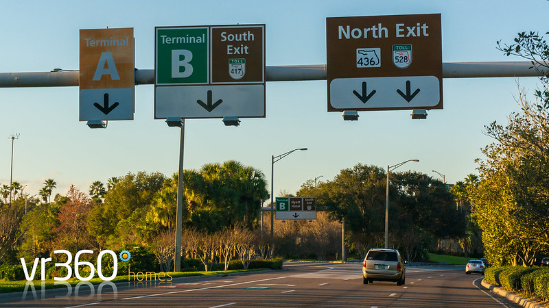 Driving Direction from Orlando Airport (MCO) to the Windsor Hills Resort