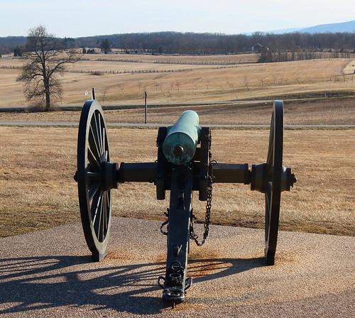 Gettysburg Day 1, Oak Hill Cannon