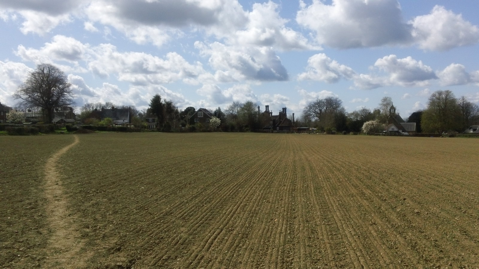 Just one more field to a warm welcome,,,,not Fordcombe, Kent