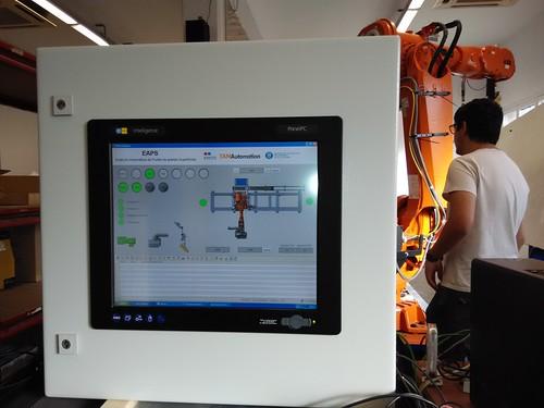 EMTE lidera el desarrollo de un sistema robotizado para el pulido de superficies de grandes dimensiones