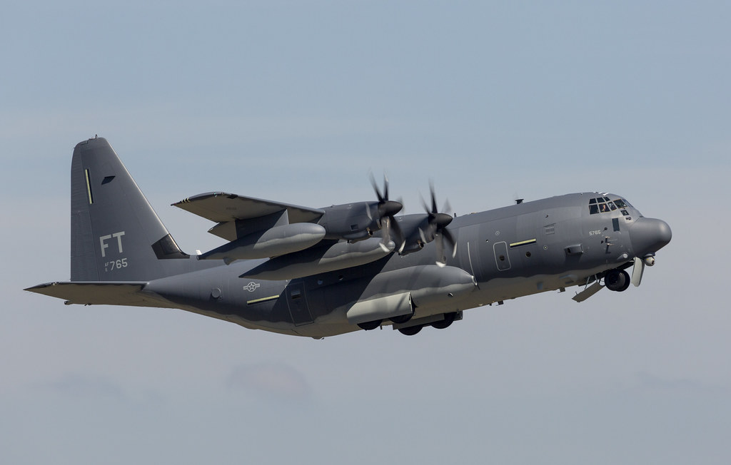 HC-130J Combat King II Delivery