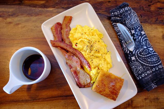 Bacon And Eggs At Barista Parlor Flickr Photo Sharing