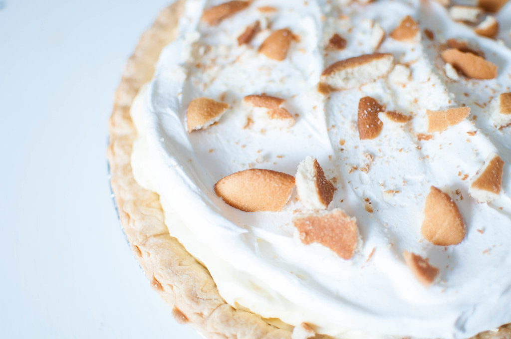 Banana Pudding Pie 1
