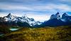 Lago Nordenskjöld and Cuernos del Paine