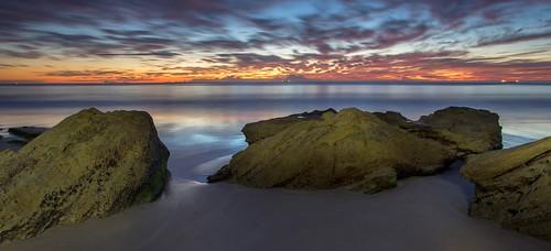 seascape sunrise australia jennydixonbeach