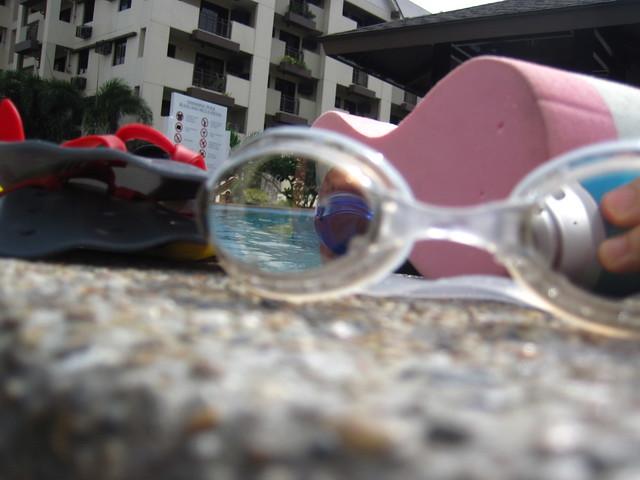 ROKA F1 SPCTRM goggles (Clear Mirror)