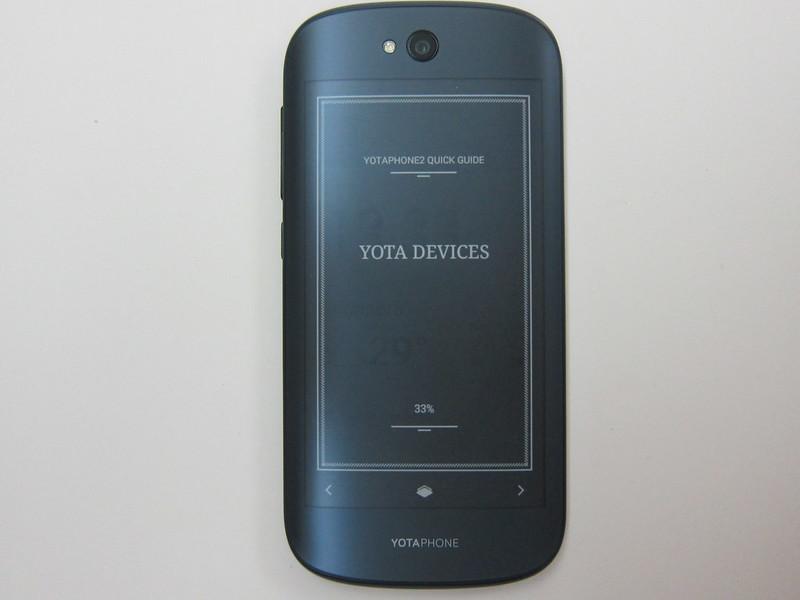 YotaPhone 2 - YotaPanel