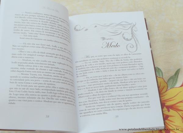 Diagramação do  livro As Faces da Luz, Tatiane Durães