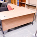 Oak Radial desk