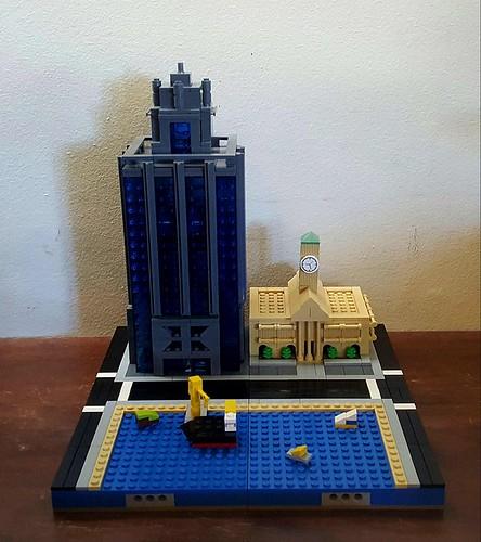 Anita Eenik- State Law Building (aka Gotham), City Hall, Waterfront.