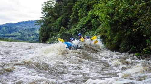 Baños: rafting sur le Rio Paztaza
