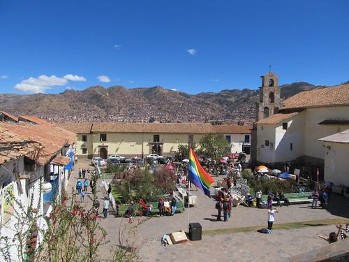Cusco: la Plaza San Blas