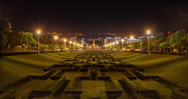 Lisboa - Parque Eduardo VII.