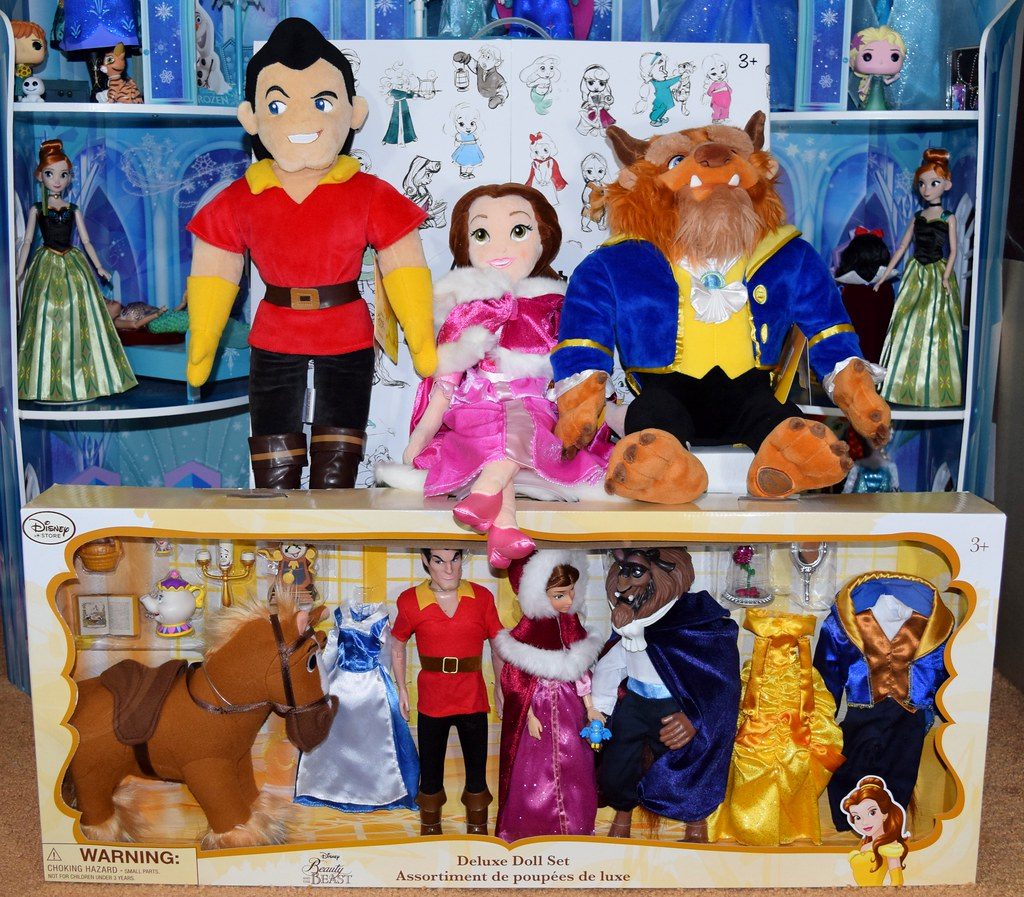 4406aafb2d9 Disney Store Beauty and the Beast Dolls and Plush Purchases - 2016-06-30