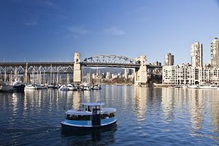 2015 Burrard Bridge, False Crek, Vancouver