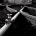 Small photo of Small railroad rail