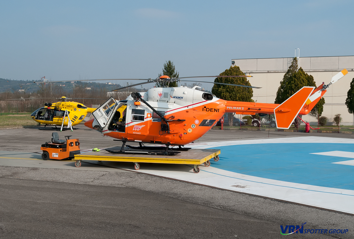 Elicottero 118 Verona : India delta a verona corte molon
