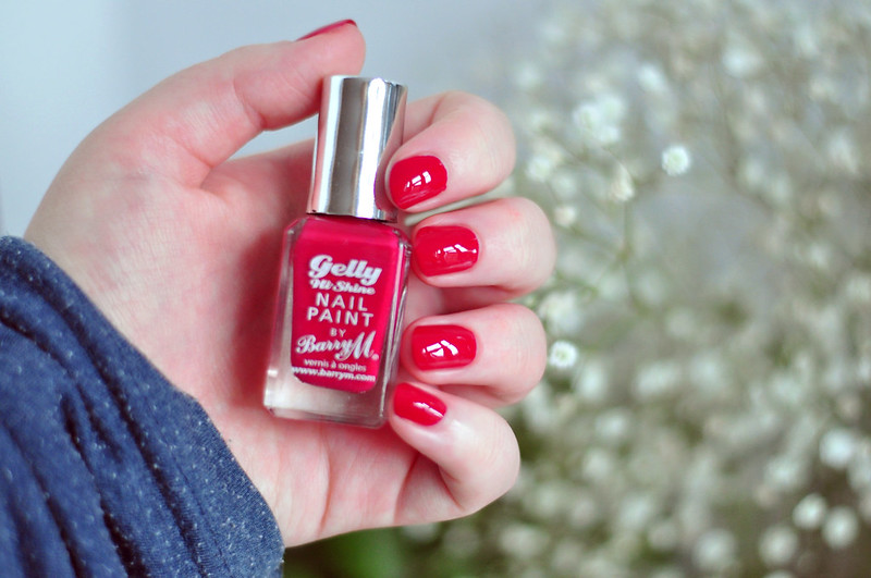notd-barry-m-gelly-nail polish-pomegranate-rottenotter-rotten-otter-blog