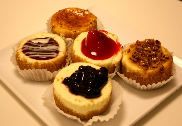 White chocolate raspberry, salted caramel, strawberry, blueberry ...