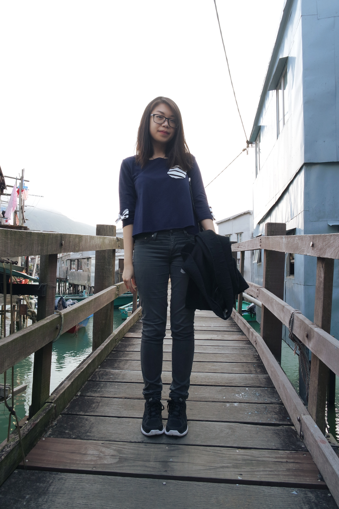 Daisybutter - Hong Kong Lifestyle and Fashion Blog: what i wore, ootd, Tai O, hong kong