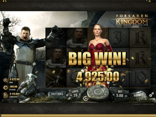 Forsaken Kingdom Big Win