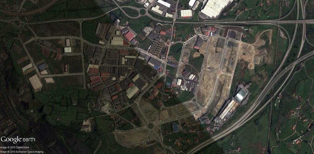 después, urbanismo, foto aérea,desastre, urbanístico, planeamiento, urbano, construcción,Tremañes, Asturias