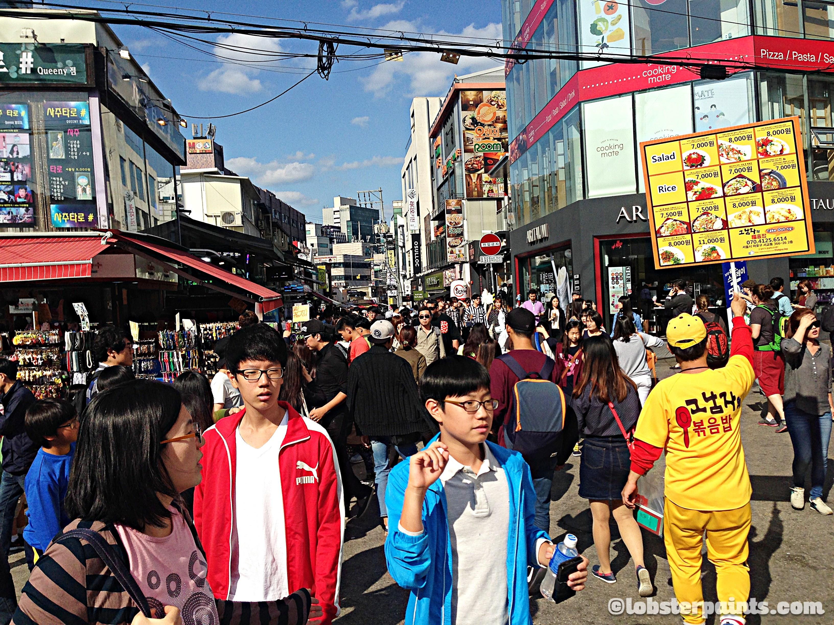 Hongdae (Hongik University Street) | Seoul, South Korea