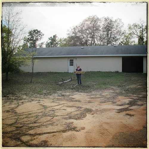 For #throwbackthursday, that time my husband and I bought 15 acres with a 2000 sq ft house and a 2200 sq ft art studio. OH WAIT THAT WAS JUST YESTERDAY AFTERNOON. #tbt