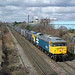 250315 1053 47847 47843 4D93 0941 DONCASTER DOWN DECOY GBRF - DRAX BRANCH JUNCTION Womersley Road by sulzer25059