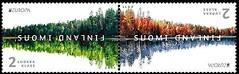 20 Timbres Finlande