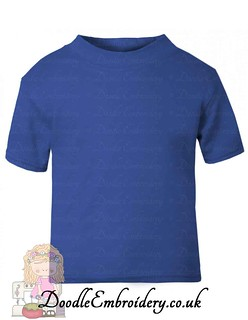 T-shirt - Royal Blue copy