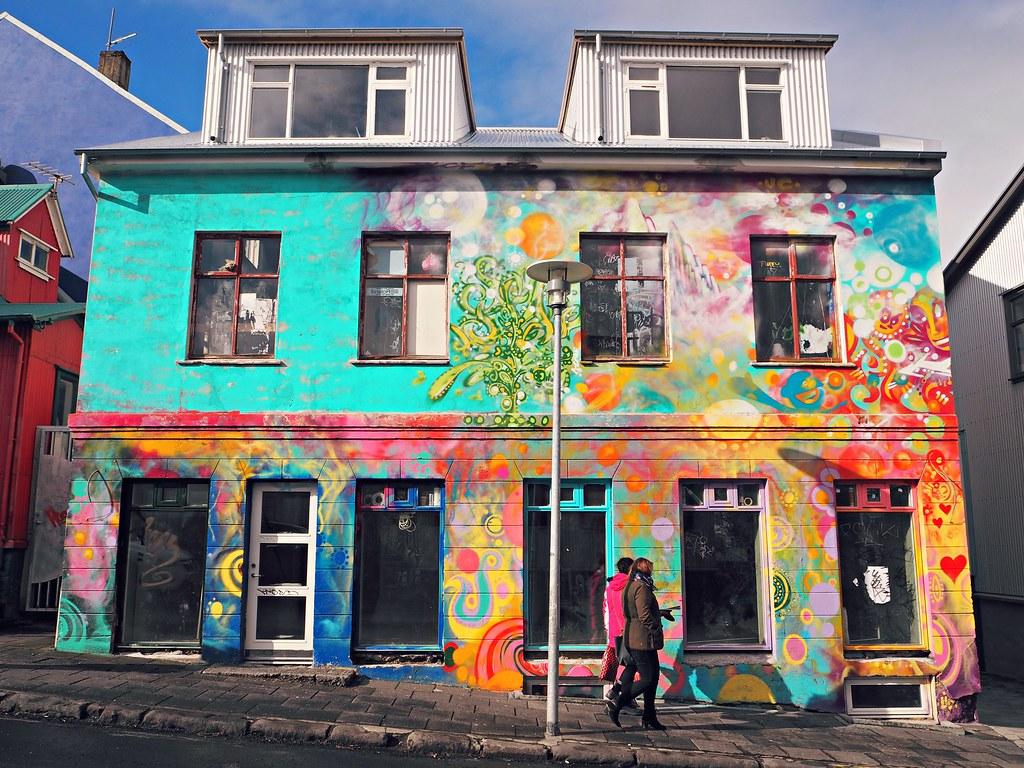 Reykjavik street art graffiti