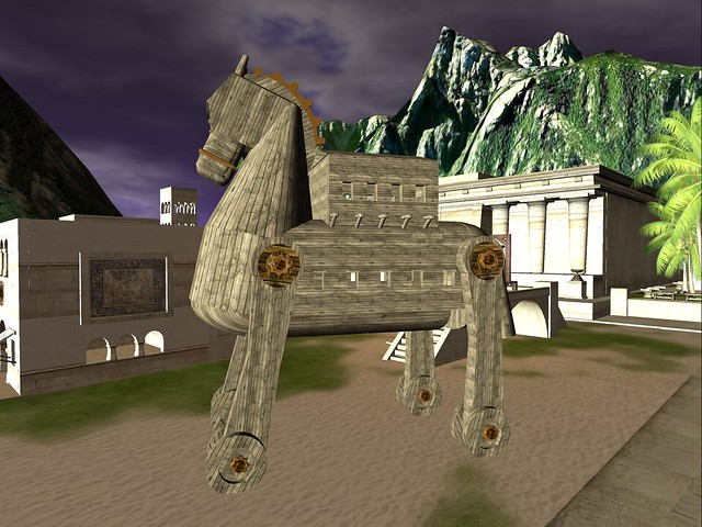 Troy - The Trojan Horse