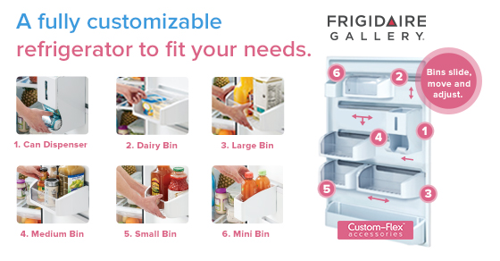 Custom-Flex Refrigerator