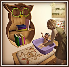 Heart Homes My sweet baby owl - complete nursery set(works with child av plus prim bbaies)
