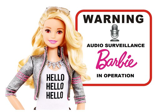 Creepy Barbie Doll Will Spy on Your Kids