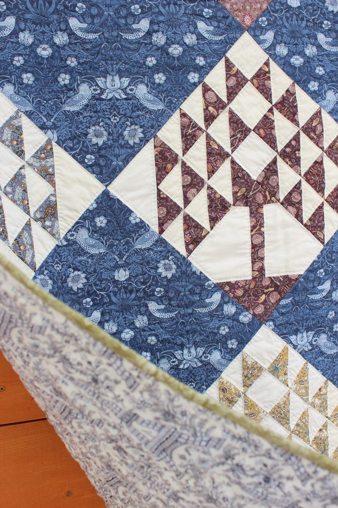 William Morris Trees of Life Quilt
