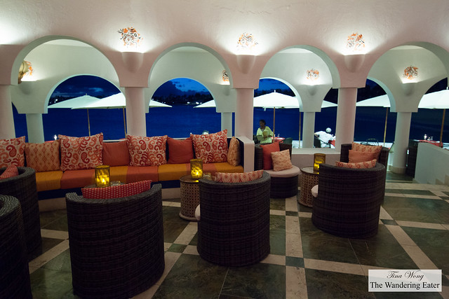 Interior of Spice Lounge