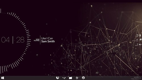 Wireframe Equaliser Desktop