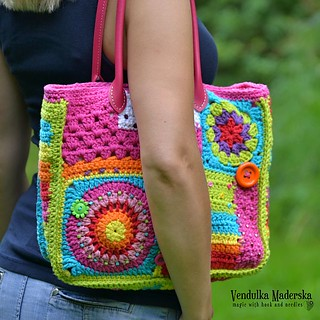 Crazy rainbow bag