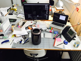 at work - new mac pro :)