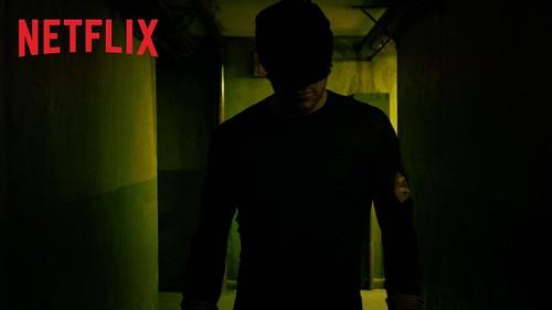 Matt Murdock standing in hallway