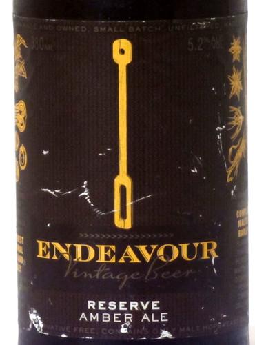 Endeavour Vintage Amber