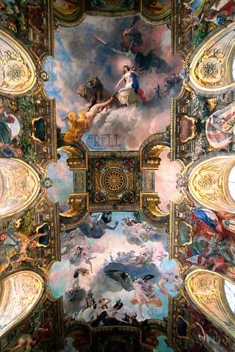 Capitole - Salle des Illustres ceiling
